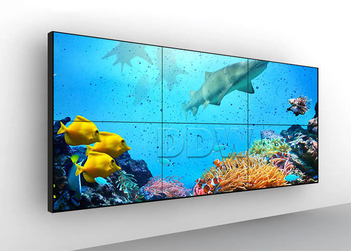 IPS screens seamless lcd video wall 16 : 9 Aspect Ratio monitores video wall display