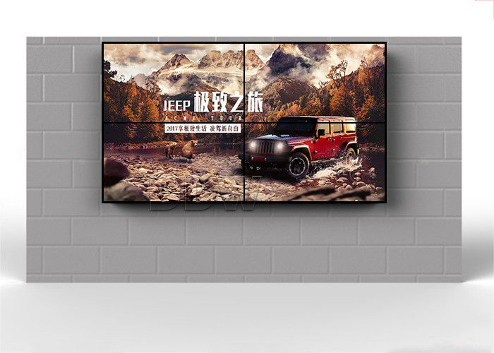 700nits High Brightness lcd screen video display wall  55 inch multiple Signal interface DDW-LW550HN14